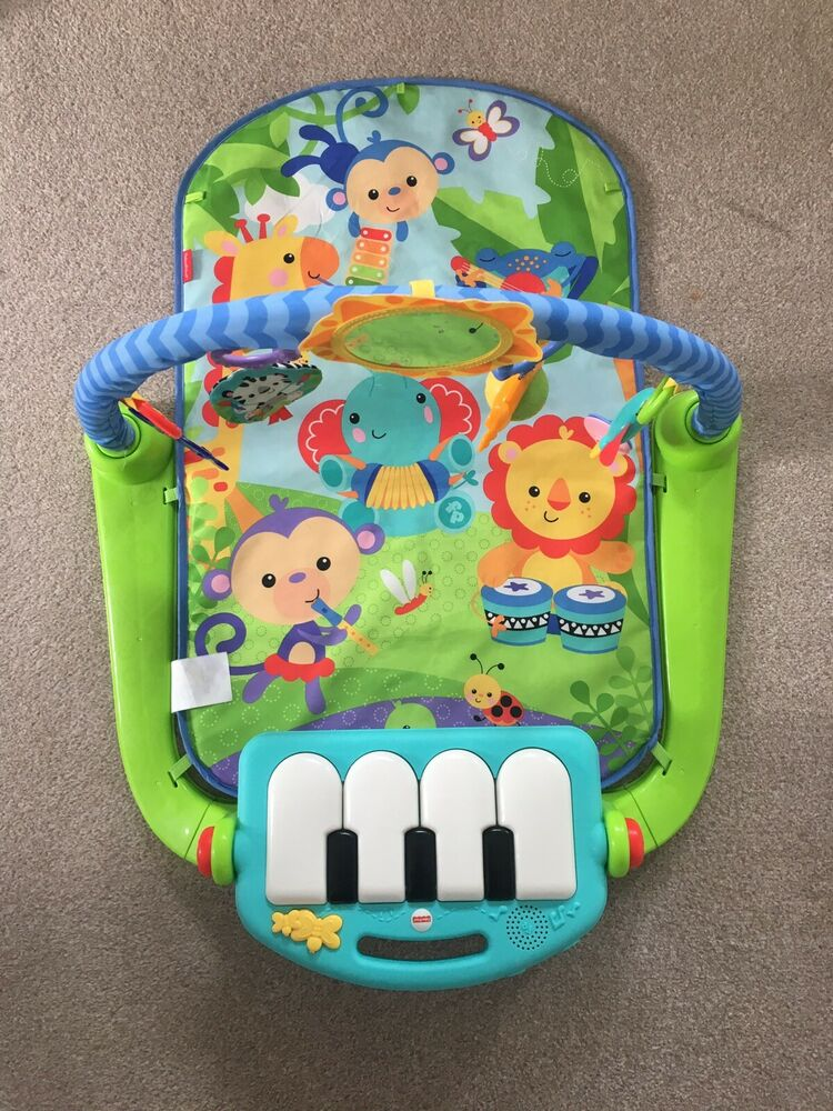 Fisher-Price Kick and Play Piano Gym Baby Toy