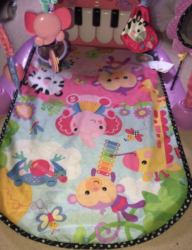 Fisher-Price Kick and Play Piano Gym Baby Toy play matt
