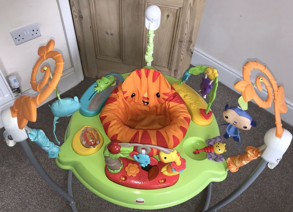 Fisher Price Rainforest Jumperoo 360 Degree Baby Bouncer