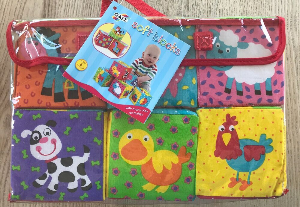 Galt Toys Baby Soft Blocks