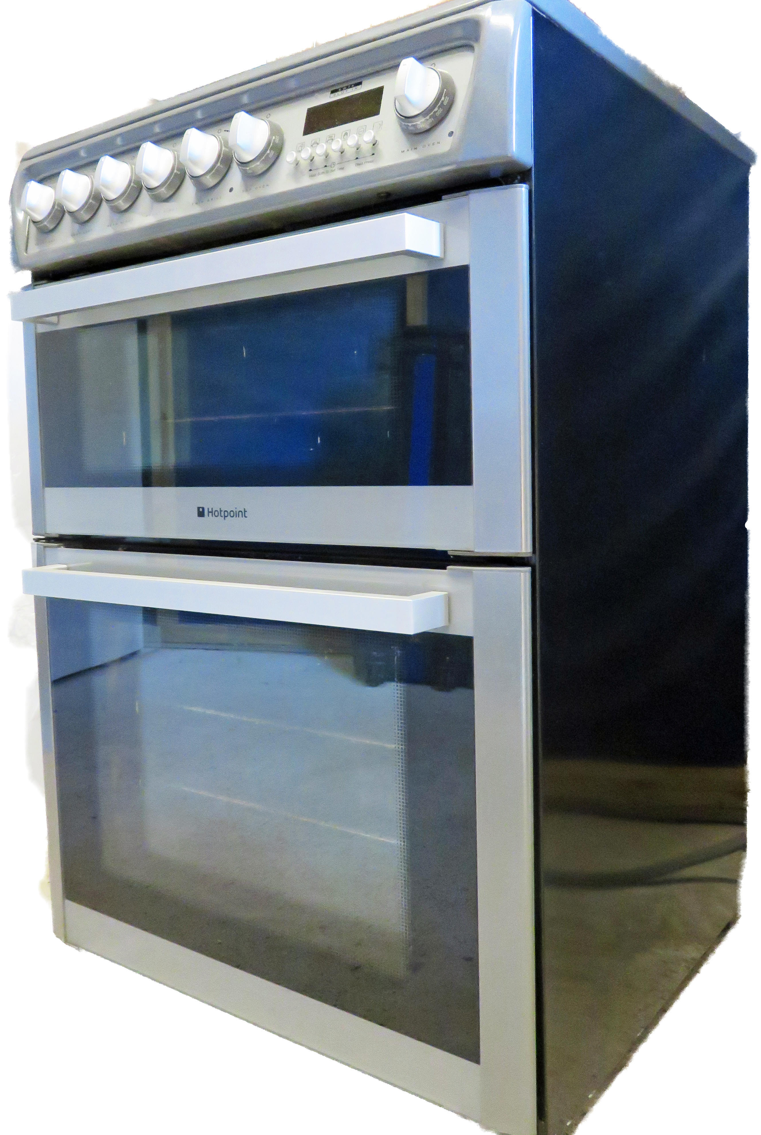 Hotpoint 60cm slot-in double oven cooker