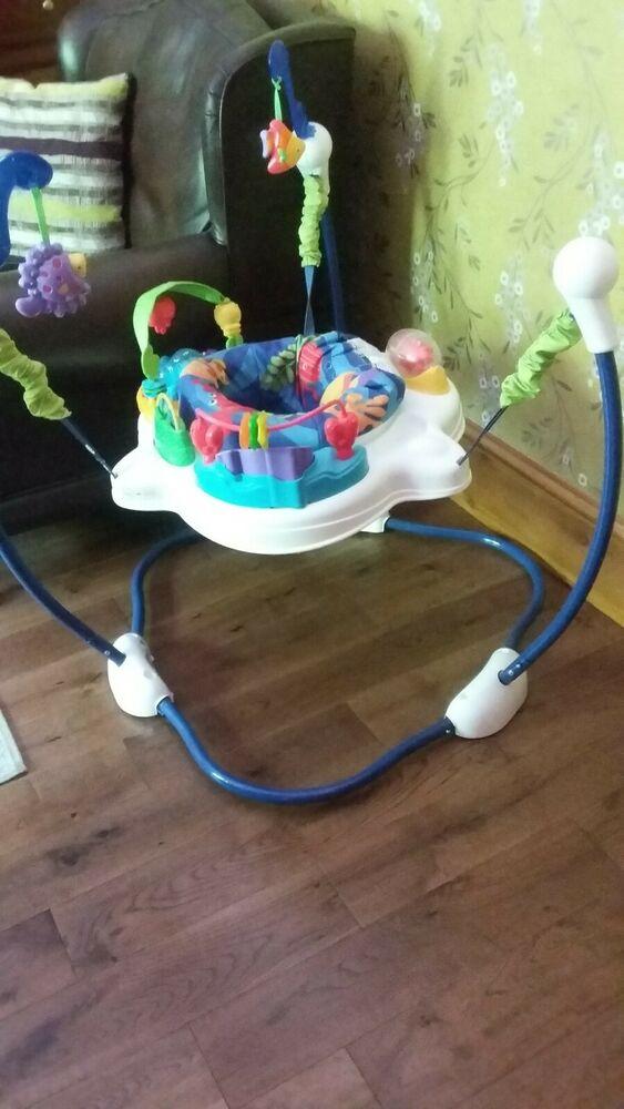 Jumperoo 360 Degree Baby Bouncer - multicoloured