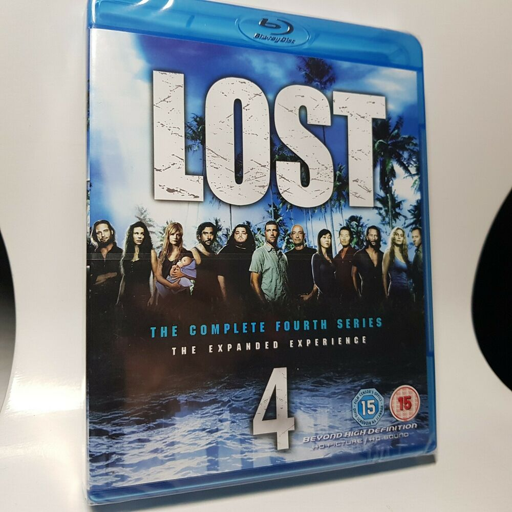 LOST - COMPLETE SERIES / SEASON 4 / BLU RAY / New and Sealed