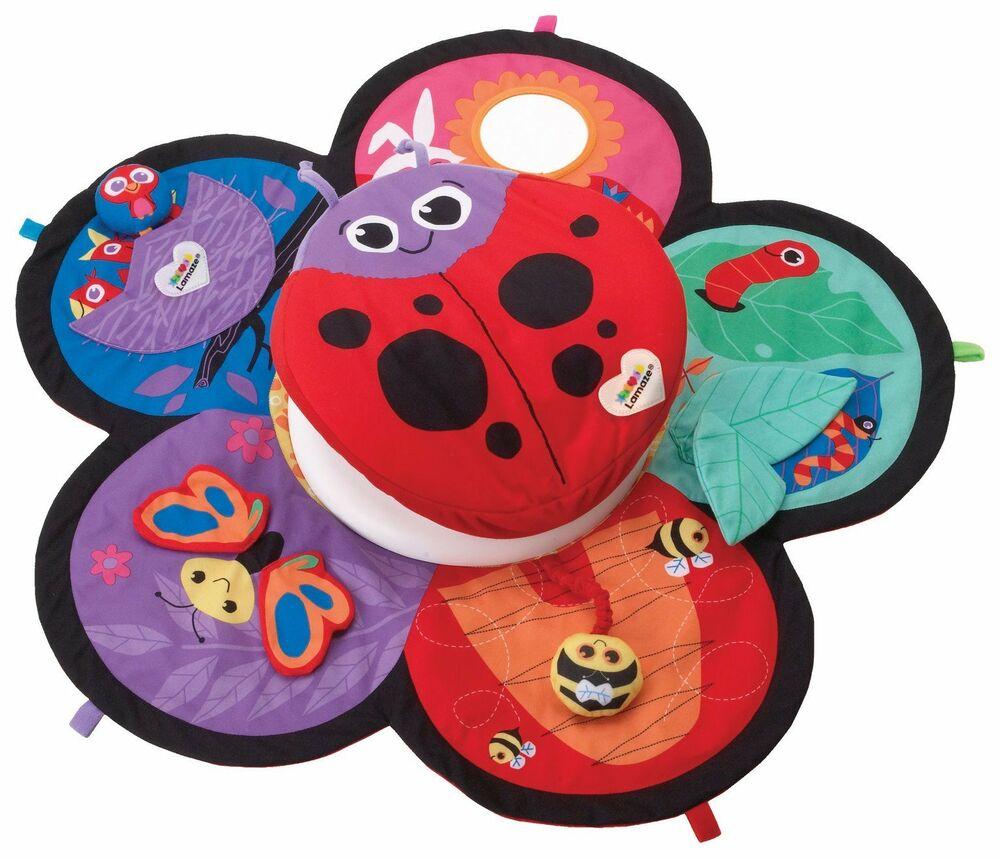 Lamaze LC Spin & Explore Garden Baby Play Mat
