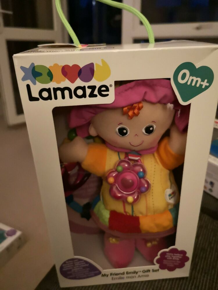 Lamaze My Friend Emily Doll with Teether Beads gift set.