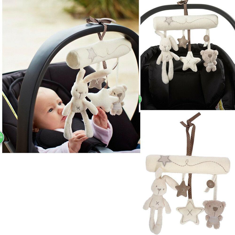 Newborn Infant Baby Pram Handbell Bed Stroller Soft Hanging