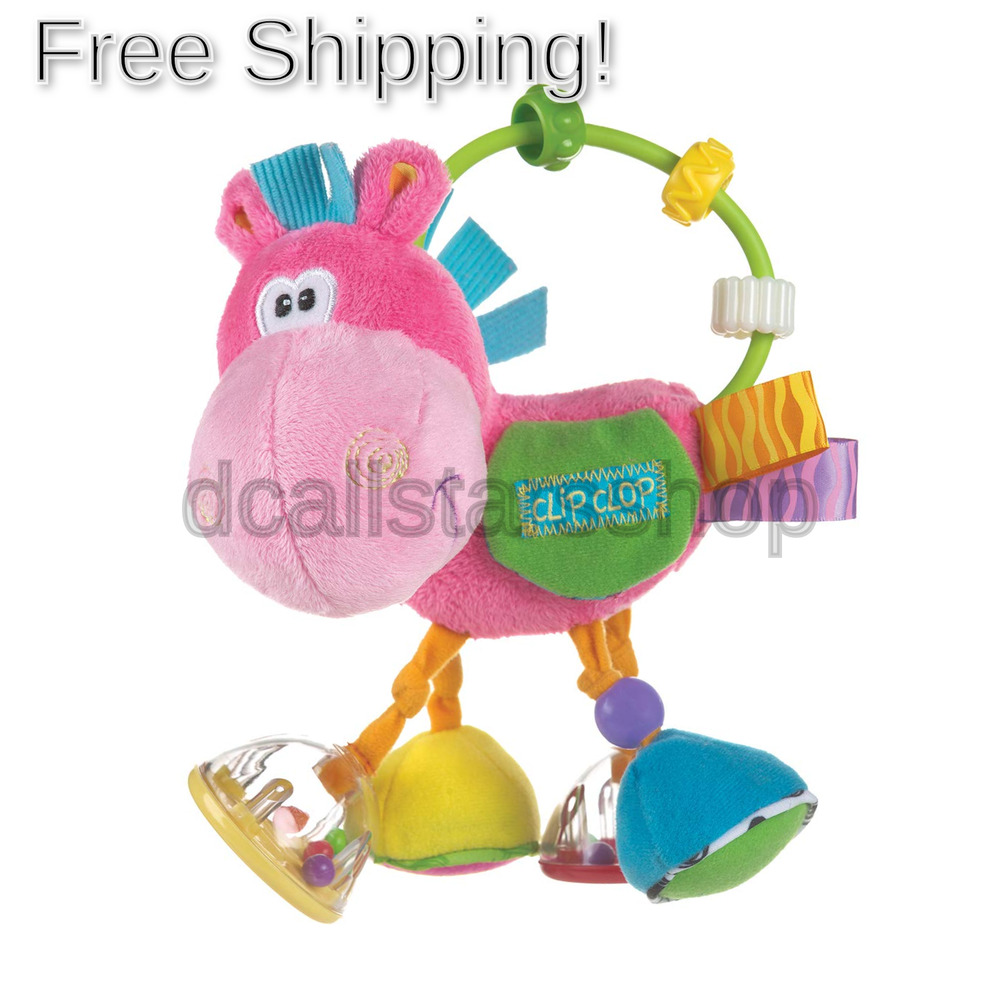 Playgro Activity Rattle Horse, Learning Toy, From 3 Months,