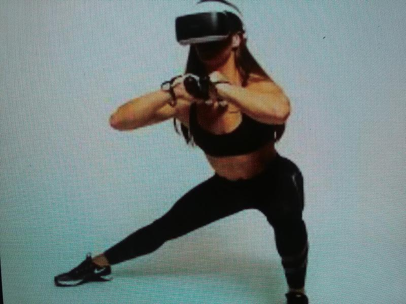 VR FITNESS TRAINER.CO.UK. (Virtual Reality)