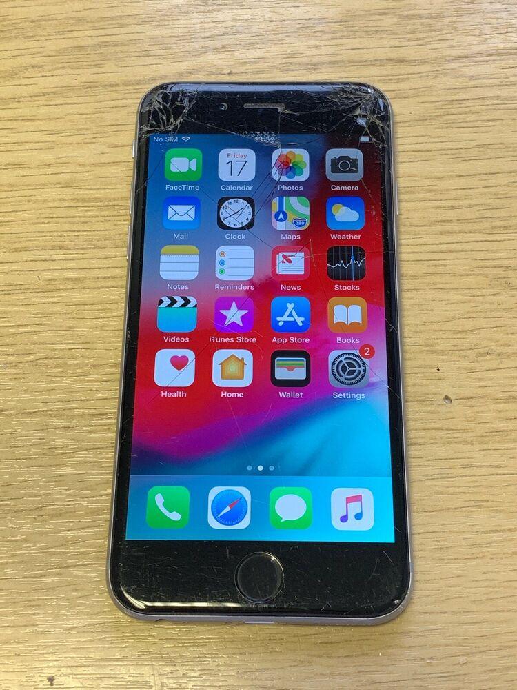 Apple iPhone 6 - 16GB - Space Grey (Unlocked) (Read