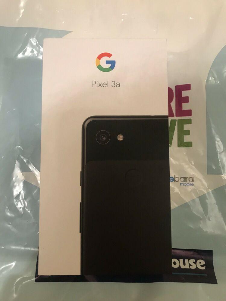 Google Pixel 3A - 64GB - Just Black (Unlocked)