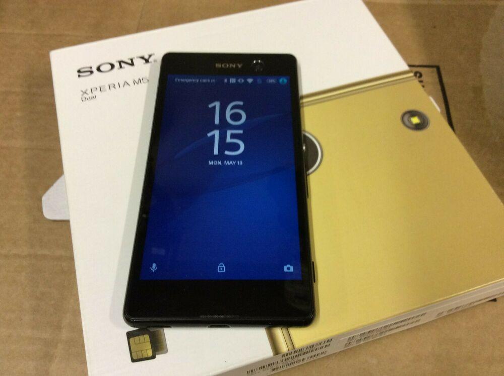 Sony Xperia M5 DUAL SIM Black smartphone Unlocked