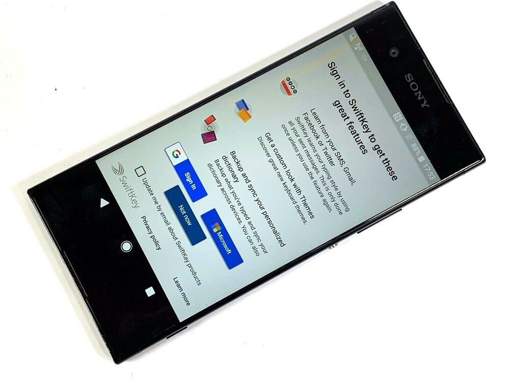 Sony Xperia XA1 - 32GB - Black (Unlocked) FAULTY