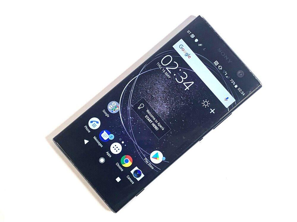 Sony Xperia XA2 - 32GB - Black (Unlocked) GOOD CONDITION,
