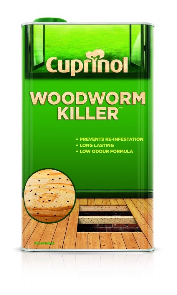 [2 Pack] Cuprinol Woodworm Killer Low Odour 5L