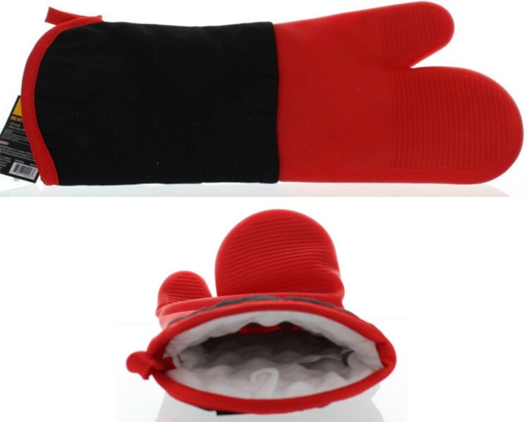CHAR BROIL BBQ MITT 16 INCH NON SLIP SILICONE HAND COOKING