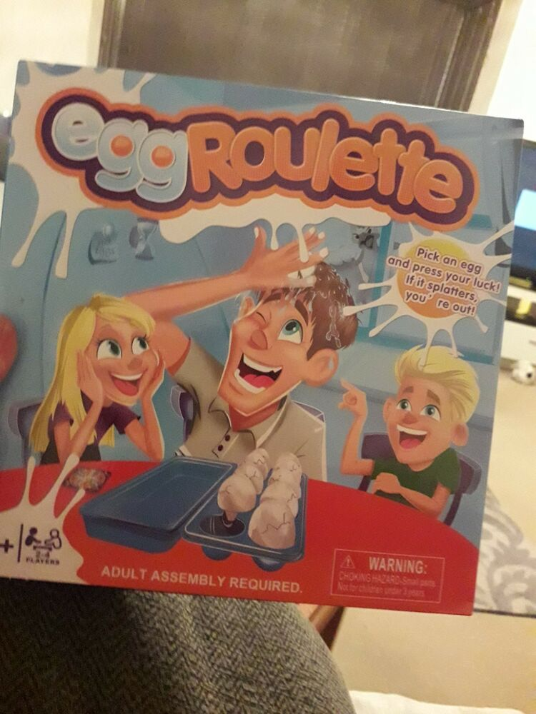 Gaming Egg roulette Game Xmas Gift The Game of Egg Roulette