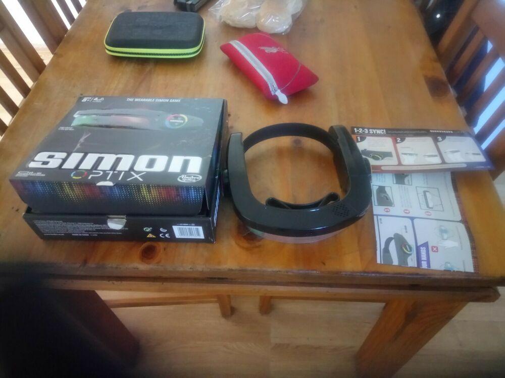 SIMON OPTIX ELECTRONIC MEMORY GAME HASBRO BOXED