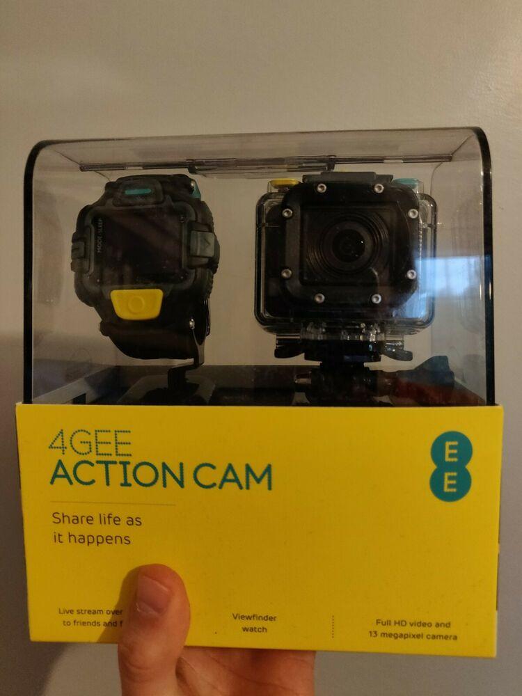 EE Action Cam, Full HD, 13 MP, p@30fps, Waterproof, View