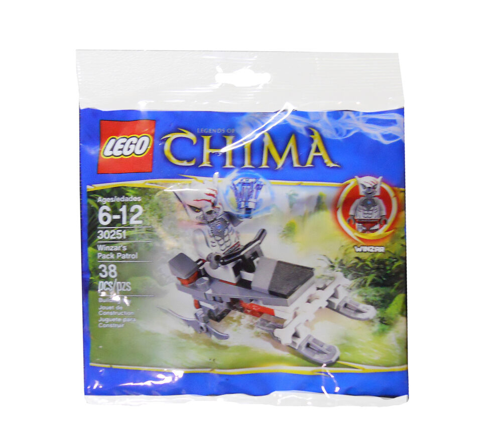 LEGO Chima Winzar's Pack Patrol () new and sealed with