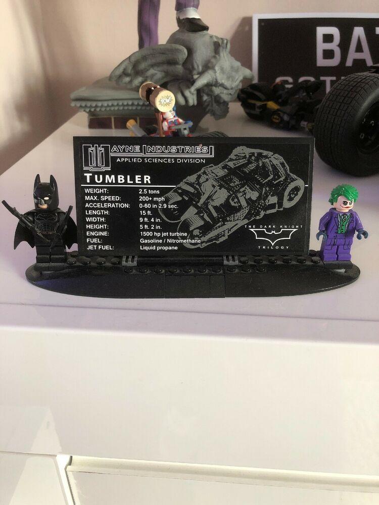 LEGO -  DC Comics Super Heroes The Tumbler Batman - The