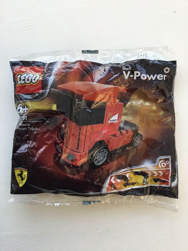 LEGO Racers: Scuderia Ferrari Truck Set . Small polybag