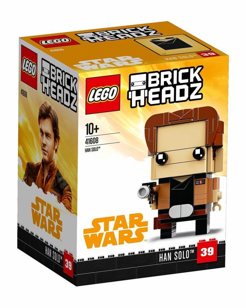 LEGO STAR WARS  HAN SOLO BRICKHEADZ