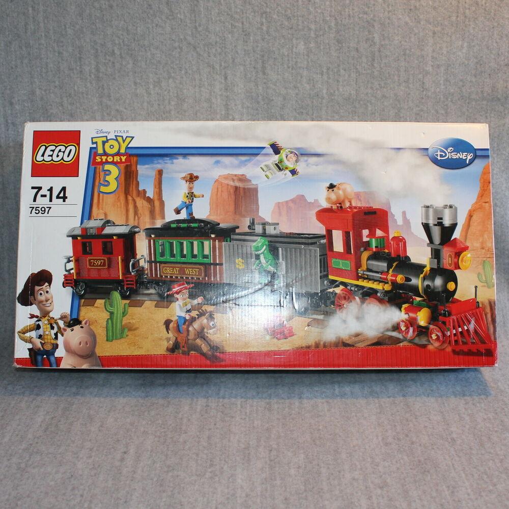 LEGO Toy Story Disney Pixar Western Train Chase Set