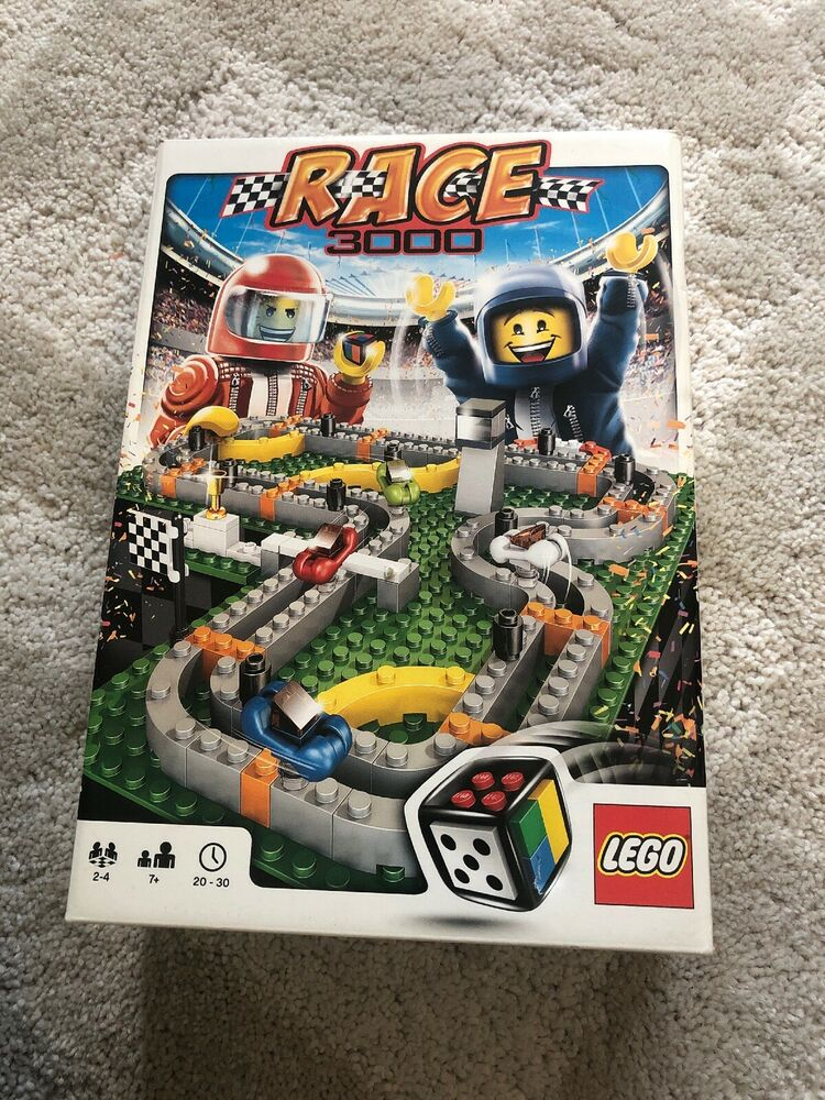 LEGO games  Race  - complete set with box and
