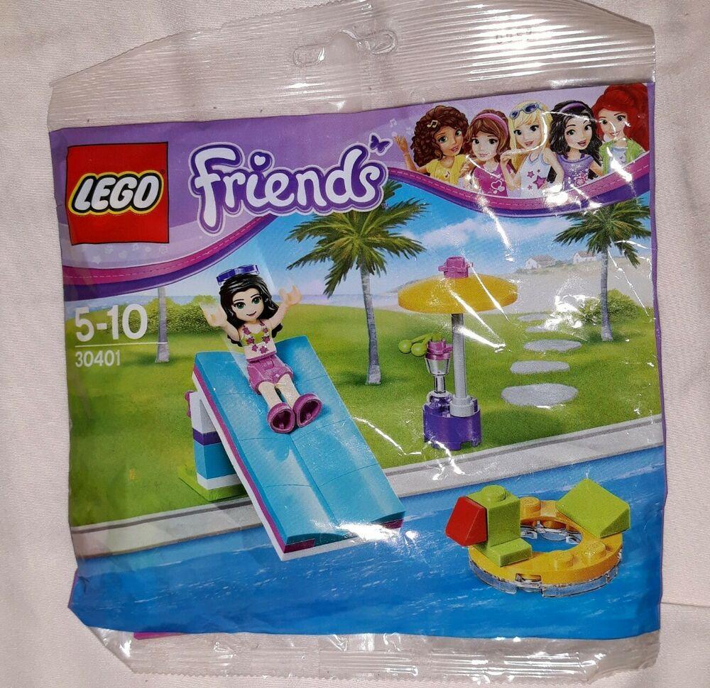Lego Friends  Emma's Pool Foam Slide New and Sealed