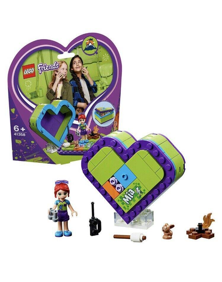 Lego Friends  Mia's Heart Box Set Brand NEW & SEALED!!