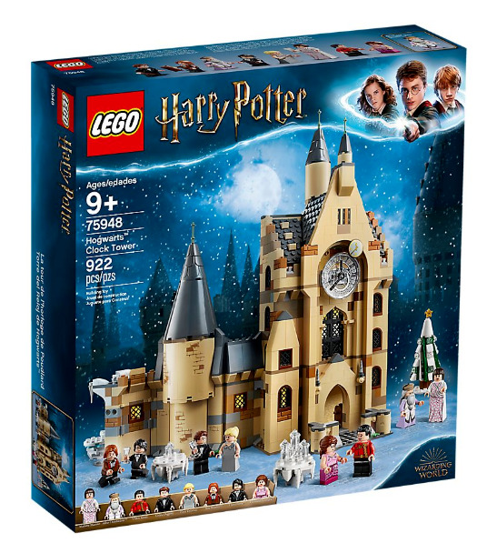 Lego Harry Potter  Hogwarts™ Clock Tower ~NEW ~ IN