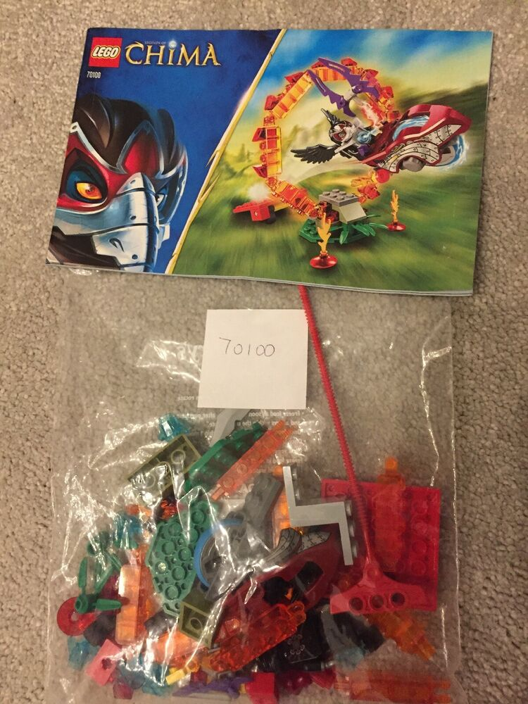 Lego Legend's of Chima Ring Of Fire  Complete. Speedorz