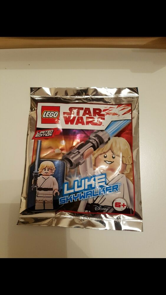 New Star Wars Lego Limited Edition Minifigure - Luke