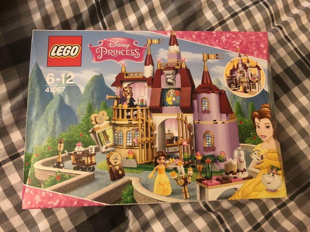 lego  disney princess  belle's enchanted castle