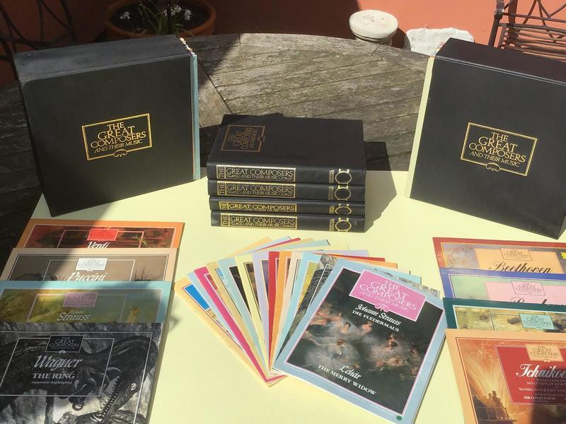 Boxed set of Great Composers and their Music