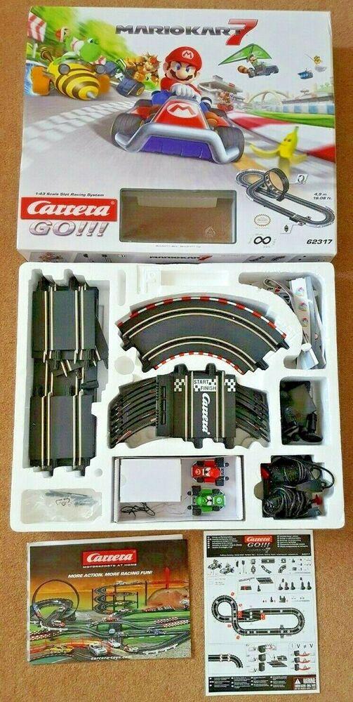 Carrera  Mario Kart 7 Racing 1:43 Scaletrix Slot Car