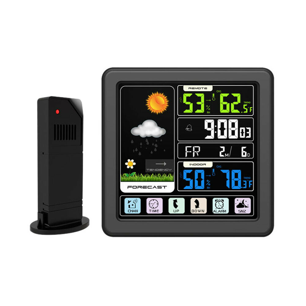 Digital Wireless Weather Station Temperature Indoor Outdoor