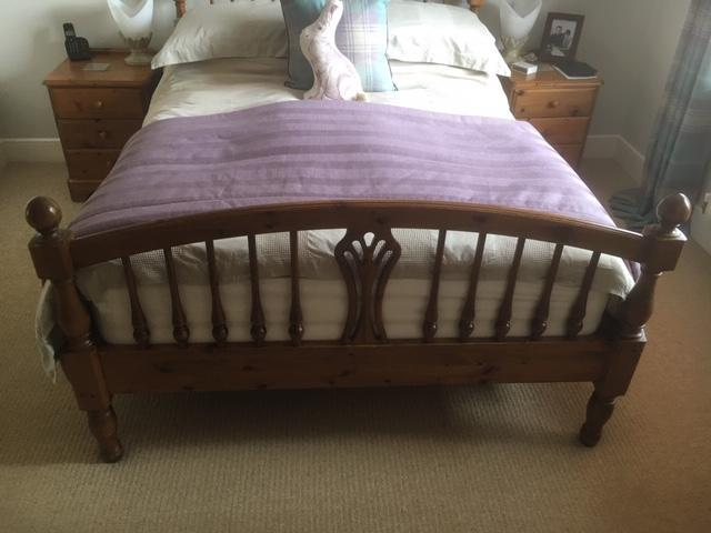 Ducal Bed Frame, Bedside Cabinets and Tallboy