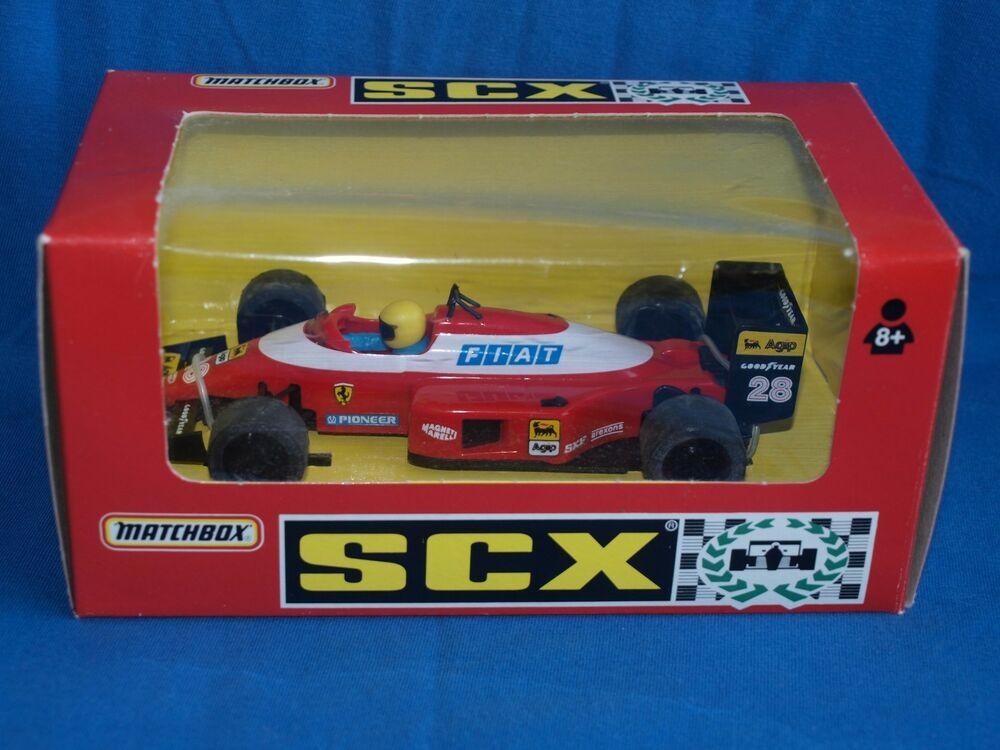 MATCHBOX SCX, SCALEXTRIC / SLOT CAR, FERRARI F1 CAR, IN