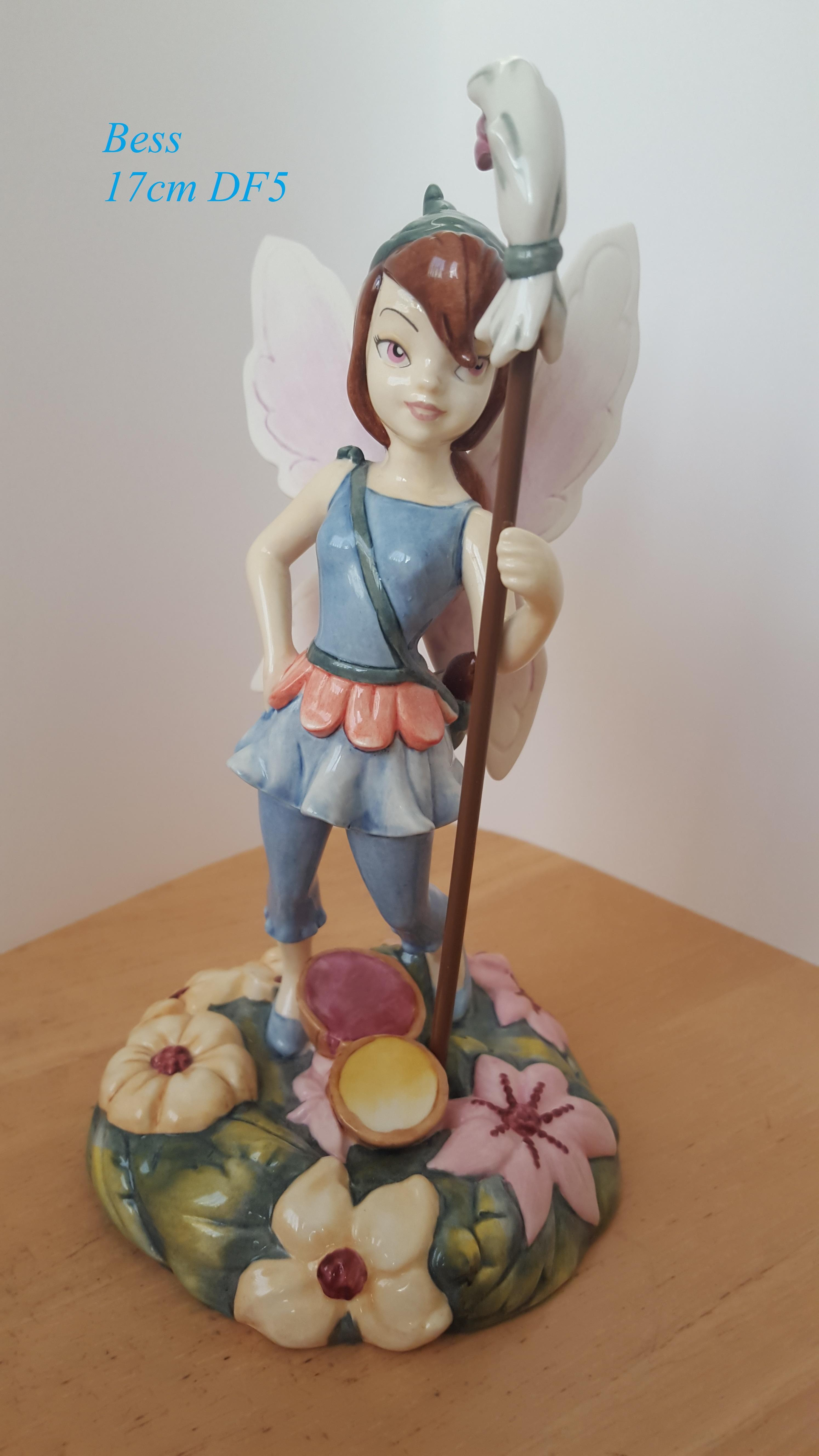 ROYAL DOULTON Disney Fairies Collection Figurine Bess 17cm