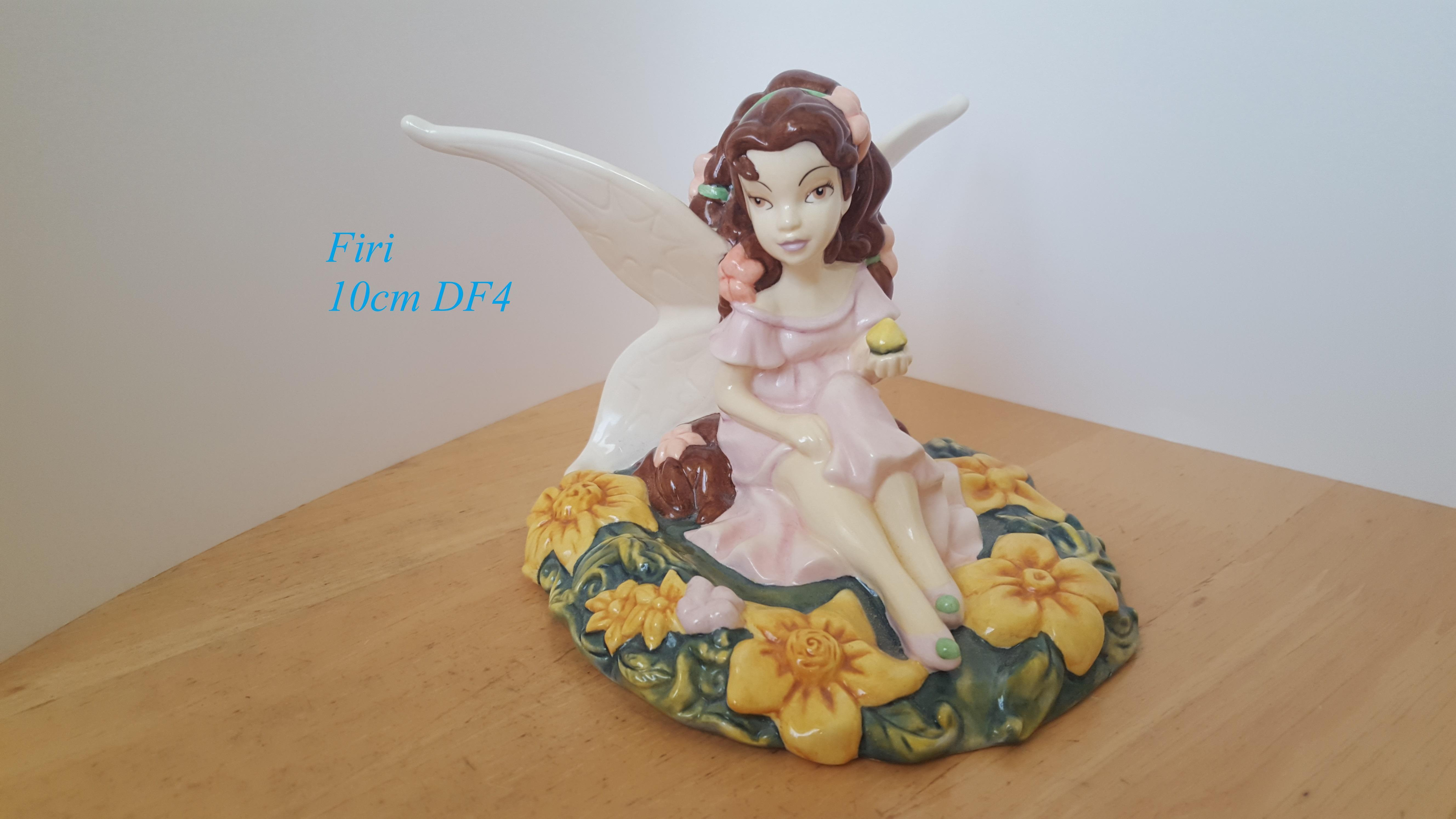 ROYAL DOULTON Disney Fairies Collection Figurine Firi 10cm