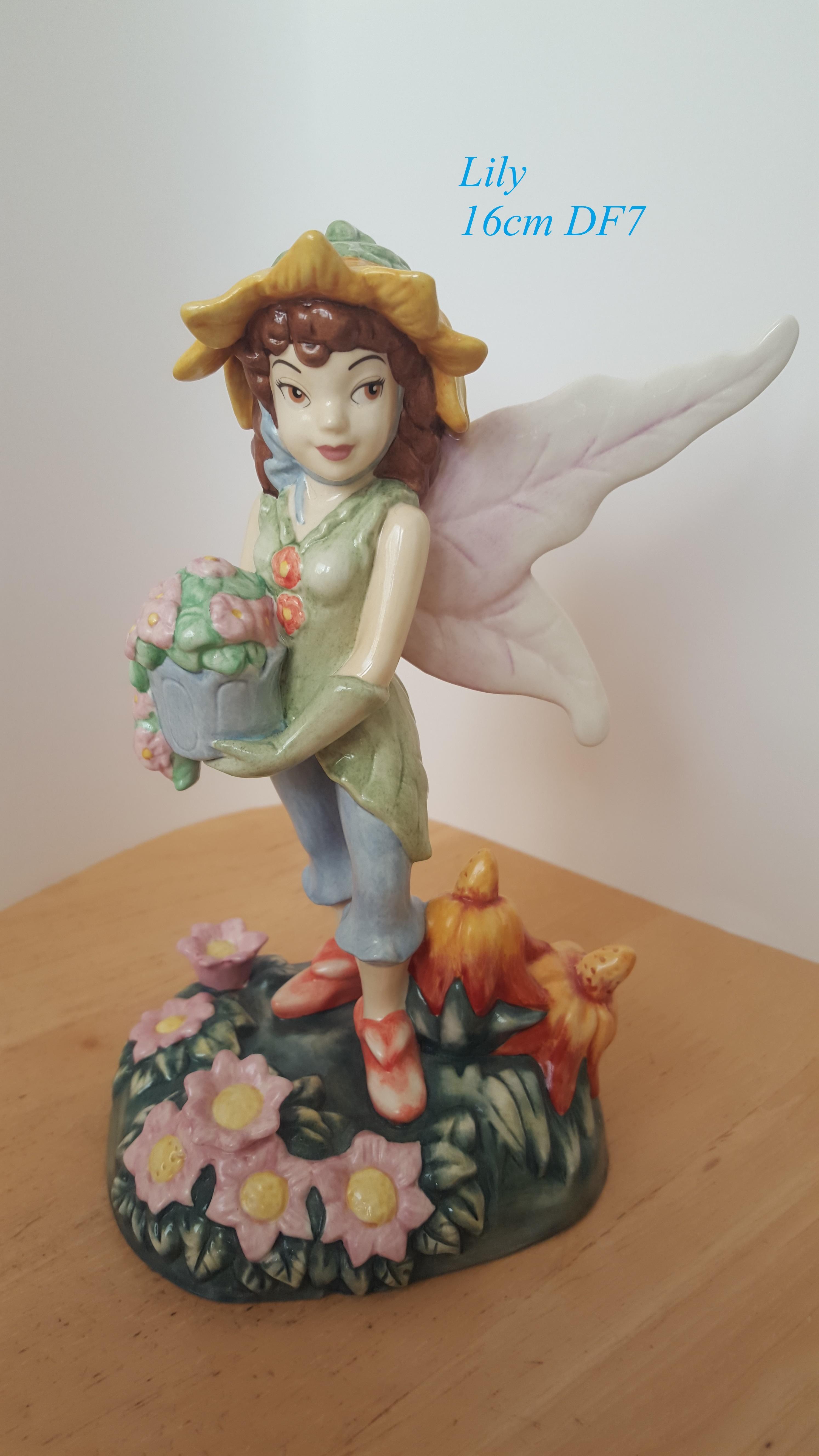 ROYAL DOULTON Disney Fairies Collection Figurine Lily 16cm