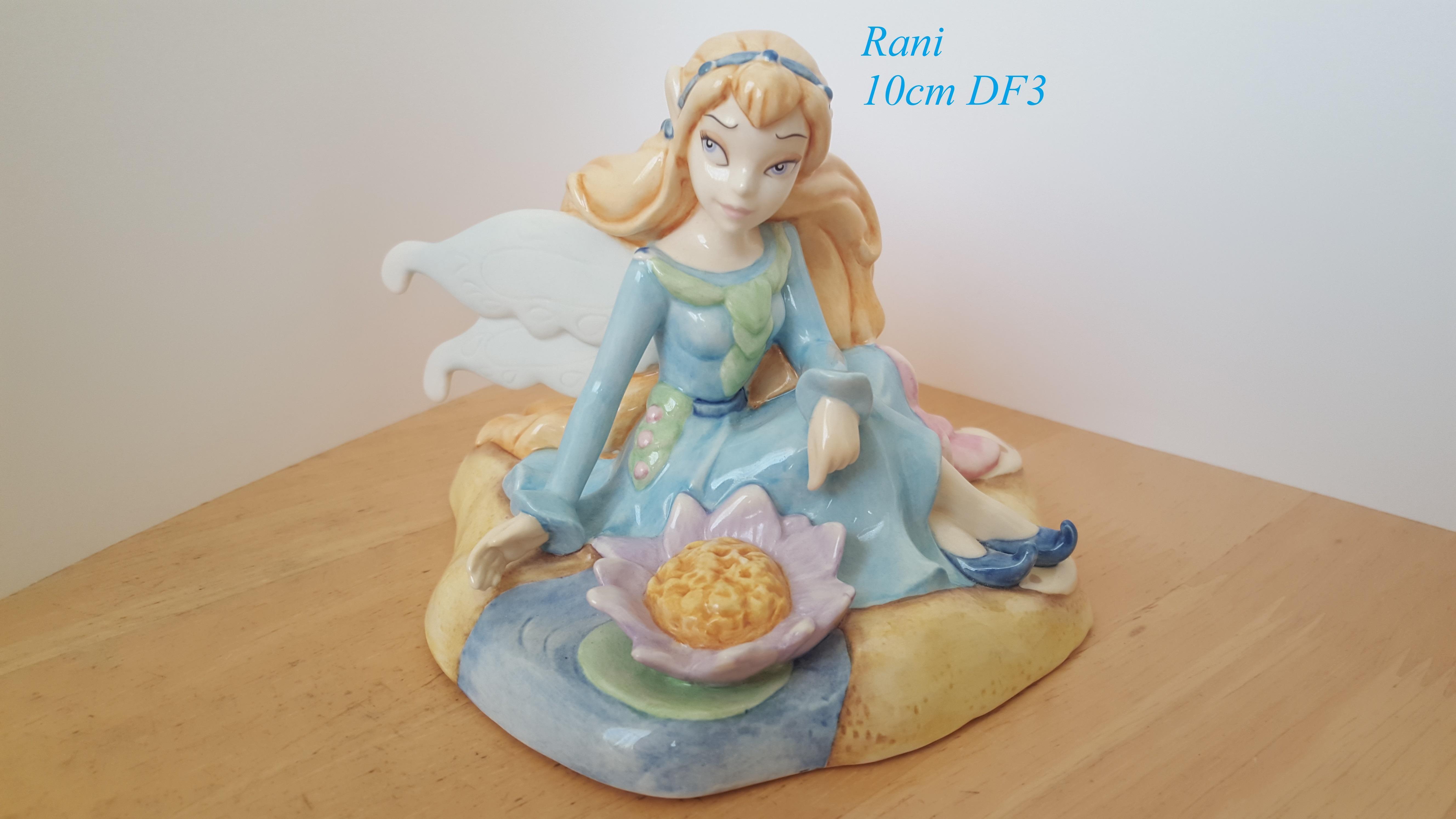 ROYAL DOULTON Disney Fairies Collection Figurine Rani 10cm