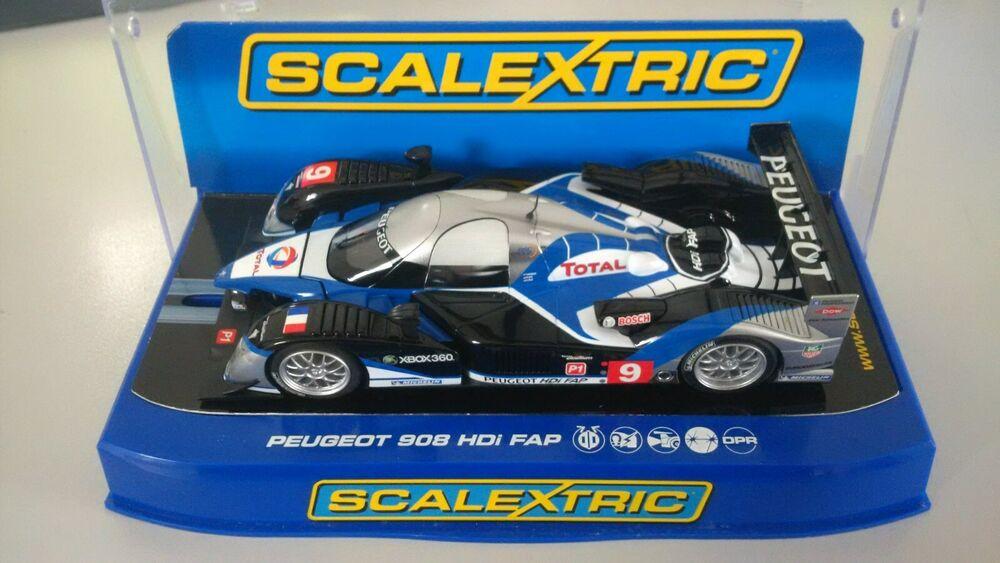 Scalextric C Peugeot 908 HDi FAP  No.9 Le Mans