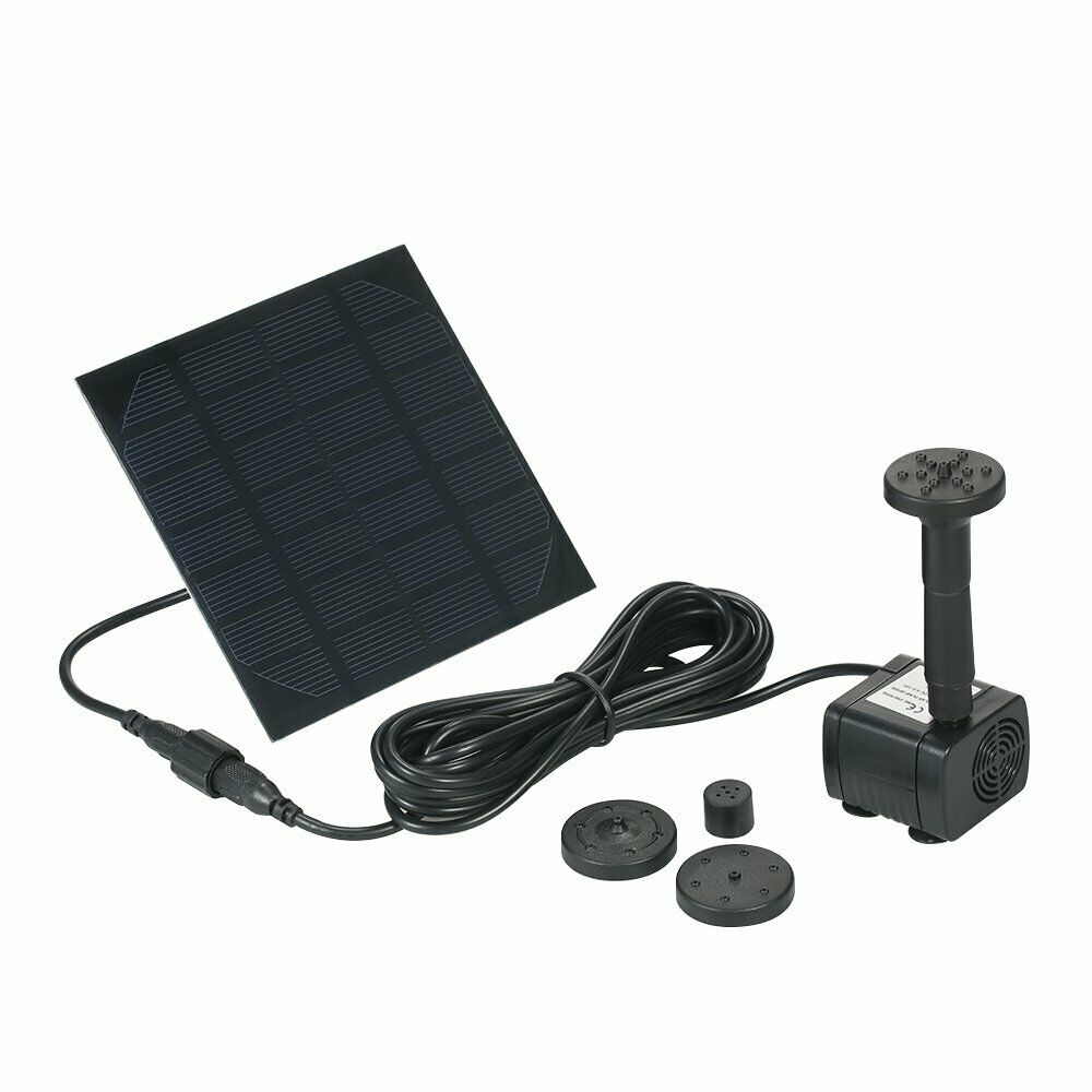 Solar Powered Water Pump Solar Pond Pump Upgraded