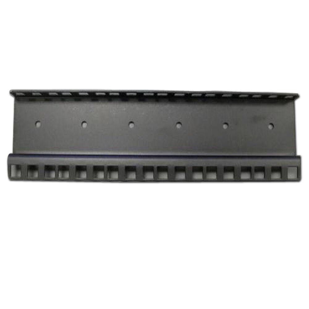 8u Heavy Duty Flight Case Rack Strip + Fittings x2