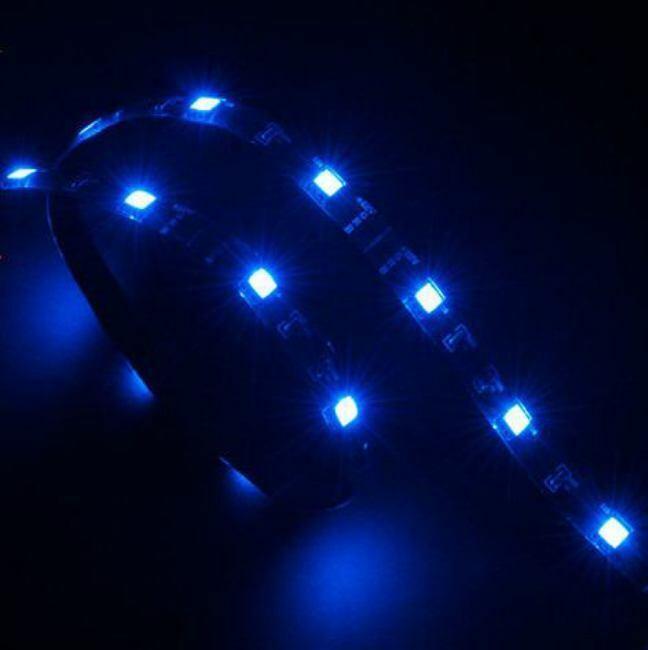 Akasa AK-LDBL - Vegas 0.60m Blue LED Light Strip