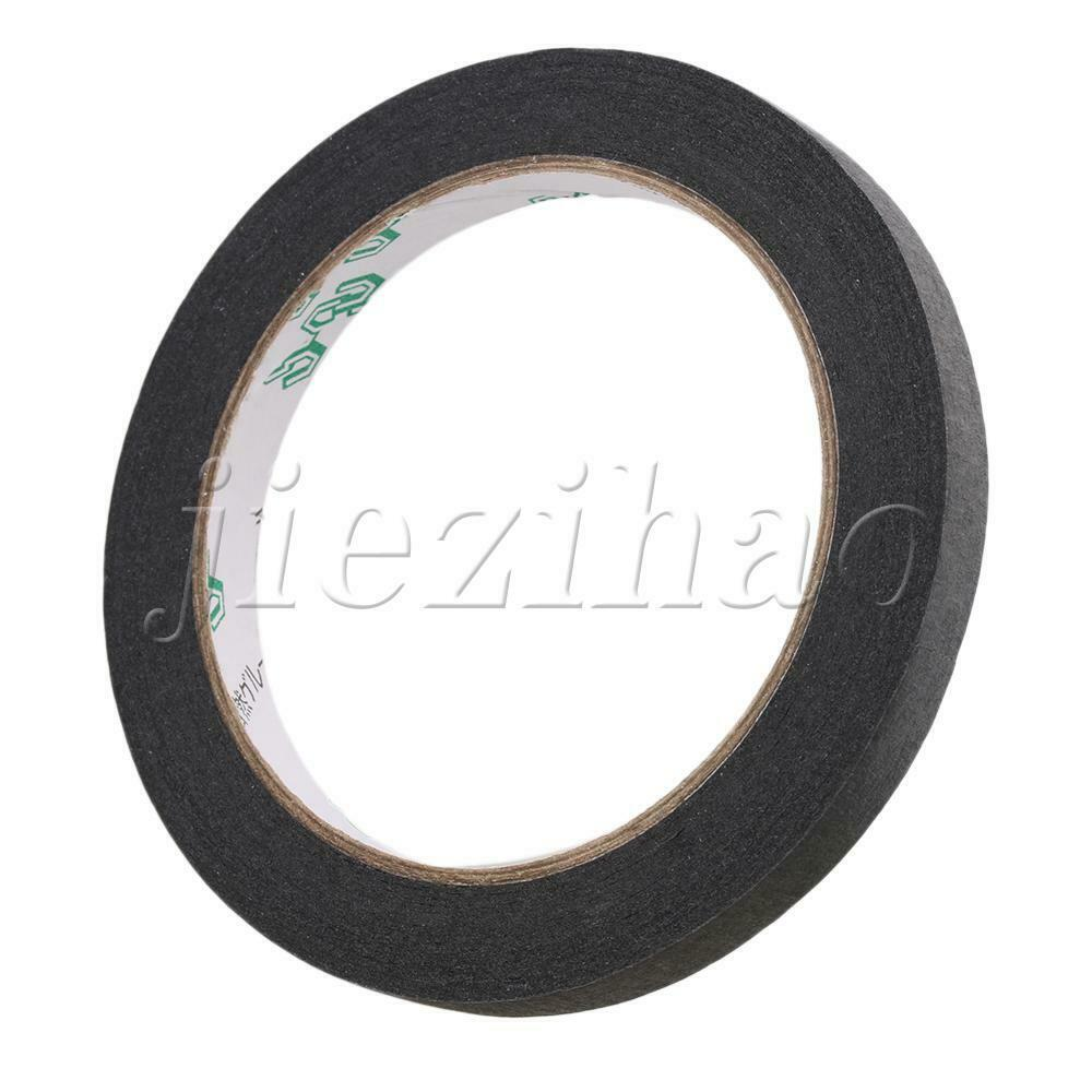 Black Guitar Pickup Insulated Adhesive Tape 9.4mm Width for