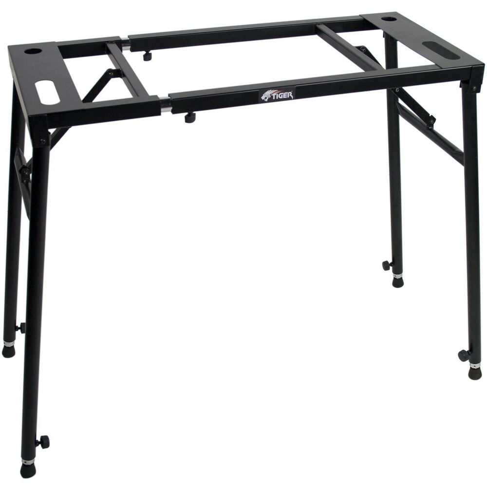 KYS21-BK Adjustable Keyboard Stand Heavy Duty Metal Top and