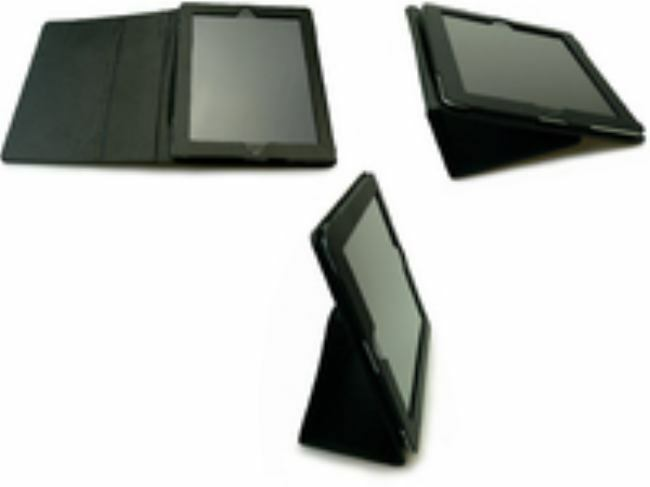 Sandberg  - Cover stand iPad 2/3 Leather - Warranty: